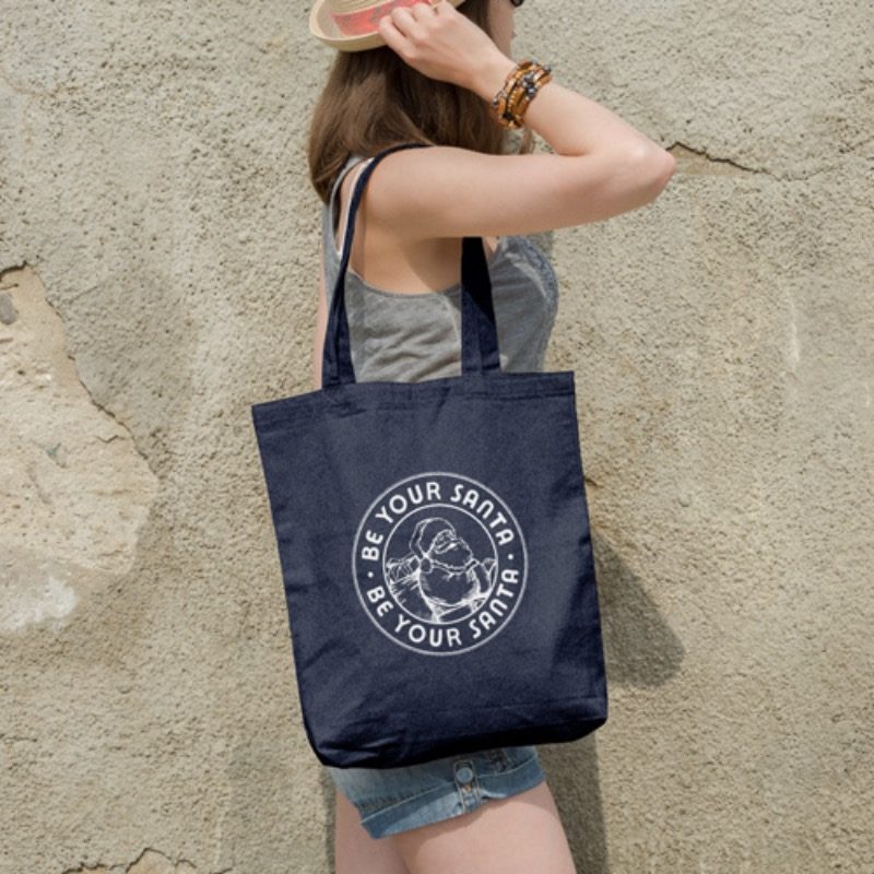 ONE WAY TOTE-BAG(NAVY)