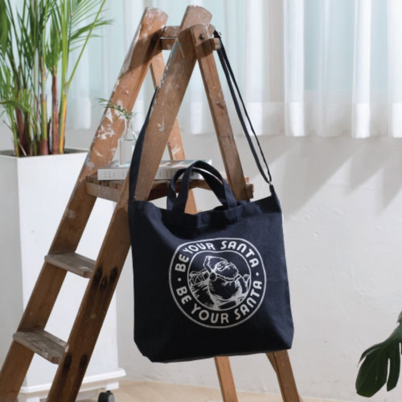 TWO WAY TOTE-BAG(NAVY)